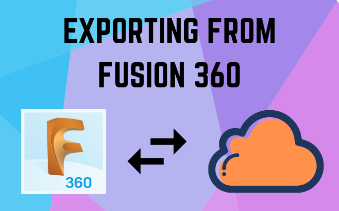 How to Export Fusion 360 files to Other File Types